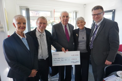 A £5000 boost for The Moira Fund